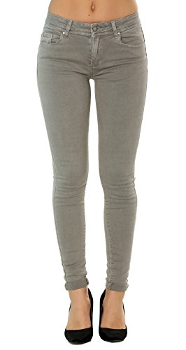 Nina Carter Mujer Vaqueros Pitillos Pantalones Jeans