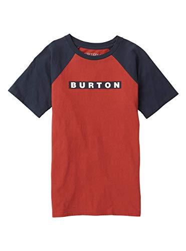 Burton Jungen Vault Short Sleeve T-Shirt Tandori rot XS | 09009521068798