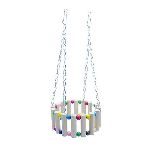 Vektenxi Haustier Kletterleiter Hamster Schaukel Mode Plattform Ring Farbe Schaukel -