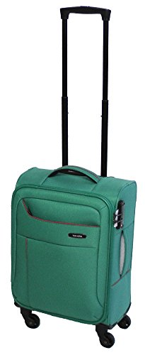 Travelite SOLARIS 4 Rad Kabinentrolley S, Aqua/Orange, 88147-25 Bagaglio a mano, 54 cm, 36 liters, Turchese (Aqua/orange)
