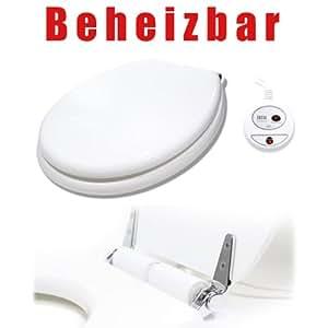 Sanics beheizbarer Toilettensitz mit Absenkautomatik