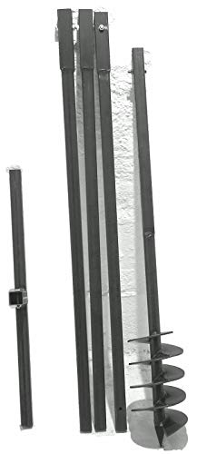 MWS-Apel 150/4 Meter Erdbohrer Brunnenbohrer Handerdbohrer Erdlochbohrer Brunnenbau Pfahlbohrer brunnenbohrgerät