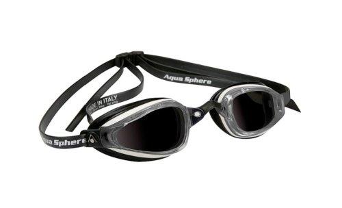 Preisvergleich Produktbild Aqua Sphere K180 + getntes Goggles - weiss & schwarz