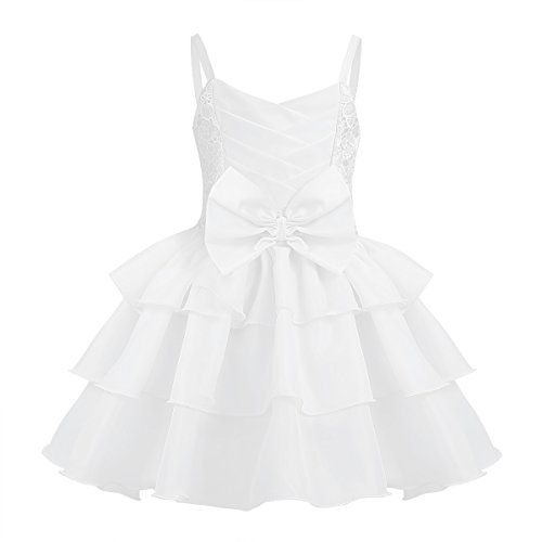 Baby Mädchen Rüschen Kleider Sommer Festliche Kleidung Spaghetti Träger Prinzessin...