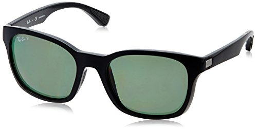 a04c44724d 30% OFF on Ray-Ban Polarized Square Sunglasses (0RB4197I601 9A56) on Amazon