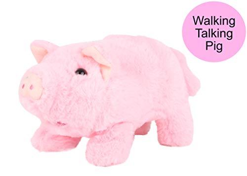 Toyland® Walking Plush Pig with Sound - Plüschtiere - Elektronische Haustiere