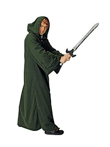 Kostüm Dunkle Mönch - K31272539-5 dunkel-grün Herren Umhang mit Kaputze