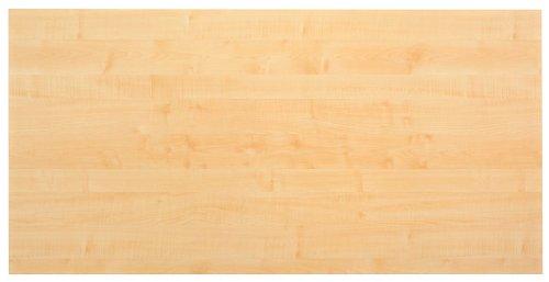 Schreibtischplatte 180x80 cm Ahorn