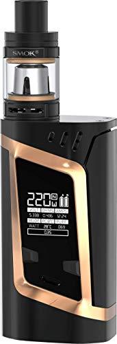 SMOK Alien Kit/RHA 220W (Alien Kit Verbessern) TC E Zigaretten Starter Kit (Schwarz Gold)
