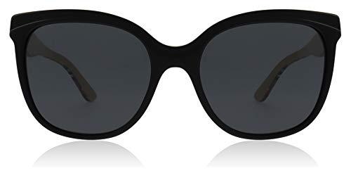 Burberry occhiale da sole be 4270 372887 a farfalla nero plastica