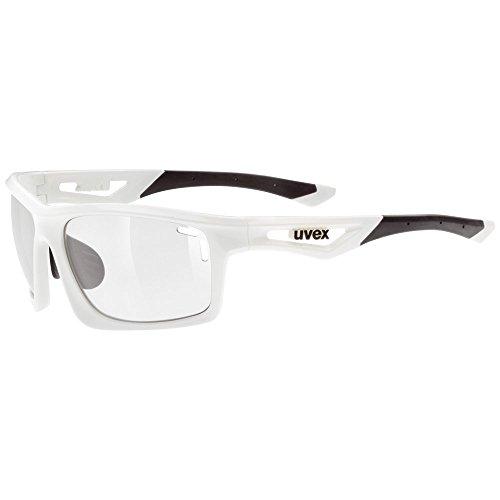 8d29018d10 Uvex Sportstyle 700 Variomatic Gafas de Ciclismo, Unisex adulto, Blanco,  Única
