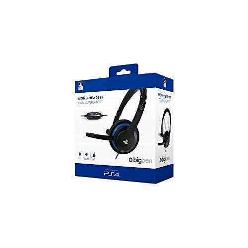 Offiziell lizenziertes Mono Gaming Headset für die Playstation 4