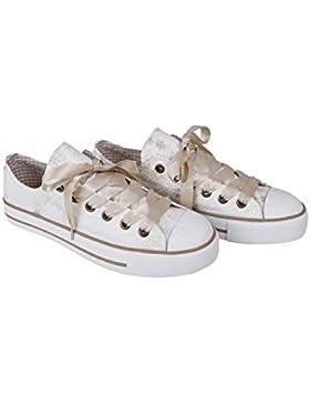 Krüger - Damen Trachtenschuhe, Sneaker Pearl (Artikelnummer: 4131-2)