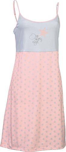 laritaM Nachthemd Interlock-Jersey Rosa