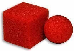 Ball to Square Mystery - Sponge Magic Trick