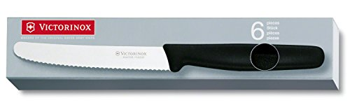 Victorinox - Table Cutlery Set 24 Pce Black Rounded