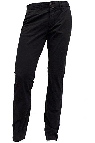 Pierre Cardin -  Pantaloni  - Chino - Uomo Nero W33/L36