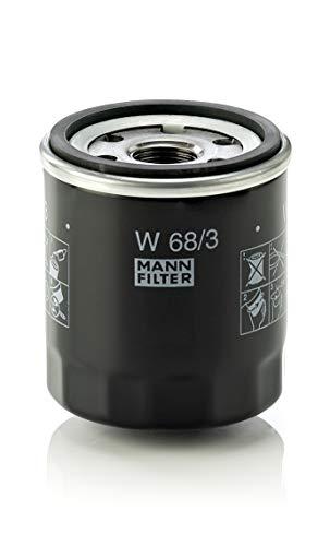 Originale MANN-FILTER Filtro Olio W 68/3 - Per Automobili e Veicoli Comm