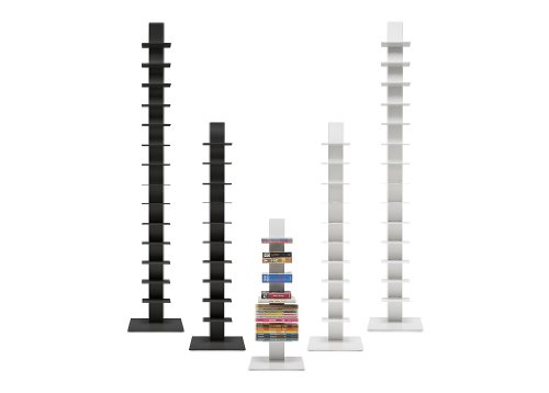 Top Bookcase Sapiens H.202cm (14 shelves) Black/Anthracite Online