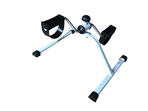 Boudech mini cyclette pieghevole pedaliera da casa regolabile mani e piedi pedale per braccia e gambe riabilitazione *pedal*