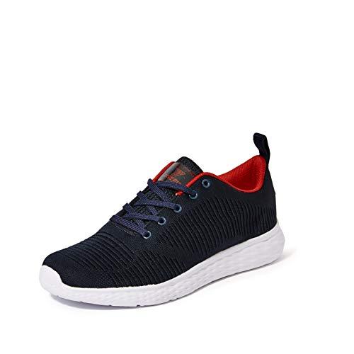 Fusefit Men\'s Zest Navy/Red Running Shoes-6 UK/India (40 EU)(FFR-144)
