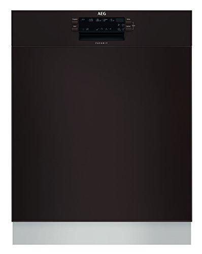 AEG FUB52600ZD Unterbau-Geschirrspüler / 60cm / AirDry - perfekte Trocknungsergebnisse / energiesparend / Besteckkorb / Glasprogramm / Beladungserkennung / Intensivprogramm / Kurzprogramm / Display /