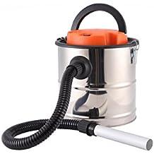 Dicoal di1200inox–Aspirateur de cendres (1200W, 20L, cuve inox couleur argent