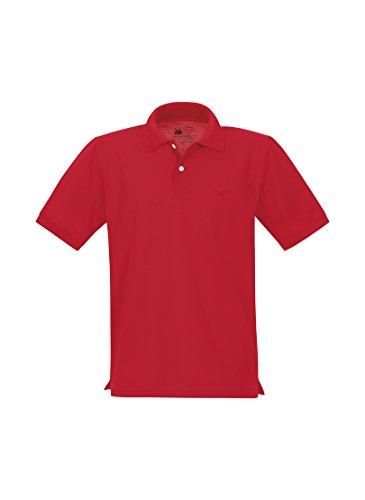 Trigema Damen Polo-Shirt Deluxe Piqué - Polo - Femme Rot (kirsch 036)