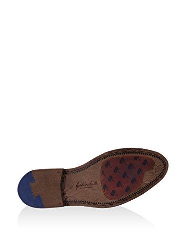 GOODWIN SMITH Orge Oxford Brogue Chaussure Tan Tan
