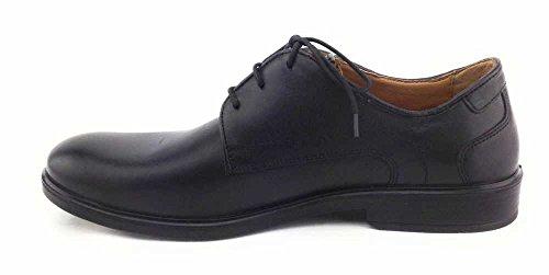 Jomos  208203, Chaussures de ville à lacets pour homme Noir - Noir