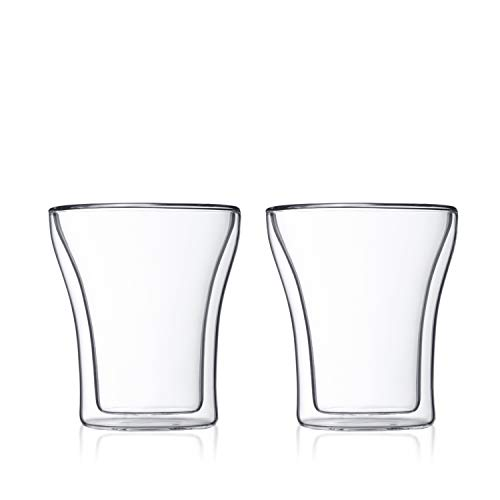 Bodum Assam Double Wall Tumbler/DOF Glass, Set of 2