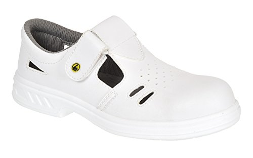 Portwest FW48 – Steelite Safety ESD sandali S1CL3, FW48WHR46 white