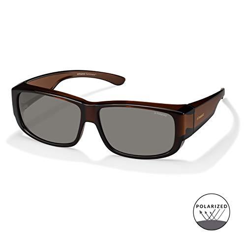 Polaroid Fitover Sonnenbrillen / Überziehbrille P8303 Polarized 09Q/OD