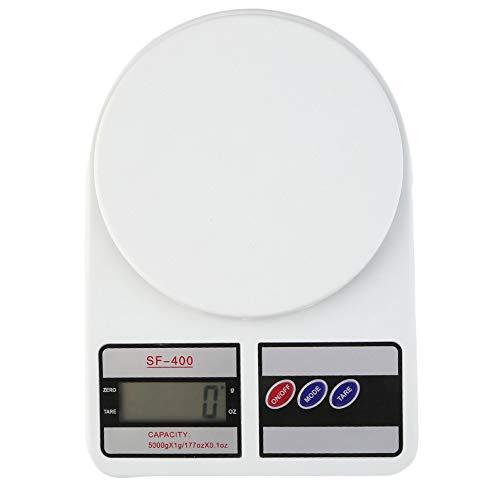 ZHANGYUGE Digitale Elektronik cocina Escala del Peso de Balance pantalla LCD Función de peso dieta Alimentos pilas - Autos Pantallas