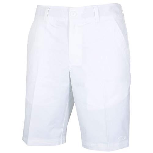 Oakley Herren Cypress Golf Shorts Gab - Weiß - 32W