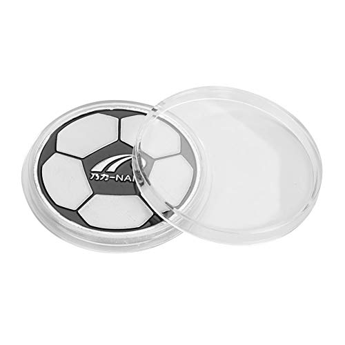 BigBig Style Legierung Fußball Fußball Schiedsrichter Flip Münze Richter Werfen Münzen Pick Seite mit Fall (Für Den Sport Münzwurf)