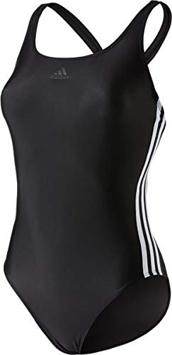adidas Damen FIT 3S Swimsuit, schwarz, 36