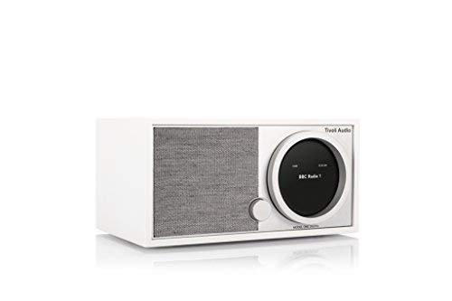 Tivoli Audio Model ONE Digital FM/DAB+ Radio Bluetooth WiFi weiß/grau