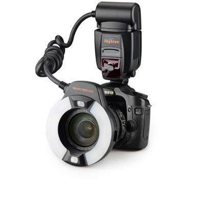 Mcoplus - Skyblue MK-14EXT - Makro E-TTL Ringblitz für Canon mit LED AF-Hilfslicht - Alle Canon EOS-Kamera EOS 5D Mark III 5, 5D Mark II, 1Ds Mark [IV / III / II / I], 1D Mark [III / II N / II / I] 6D, 5D, 7D, 60D, 50D, 40D, 30D, 650D, 600D, 550D, 500D, 450D, 400D, 350D, 300D, 1100D, 1000D