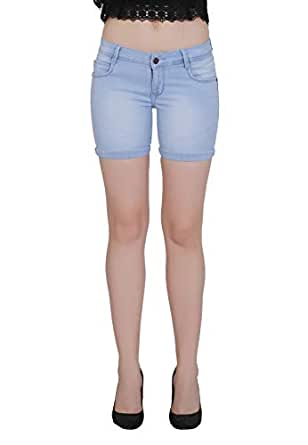 Forth Women's Stretchable Denim Shorts