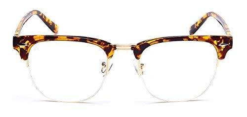 PRIVÉ REVAUX Mann Designer Brillen mit Anti Blaulicht blockierenden Linsen Einheitsgröße Schildkröte