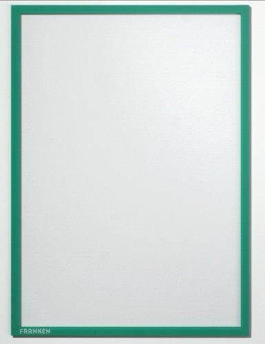 Preisvergleich Produktbild Franken ITSA3M 02 Dokumentenhalter (DIN A3, magnetisch 0,32 mm) grün