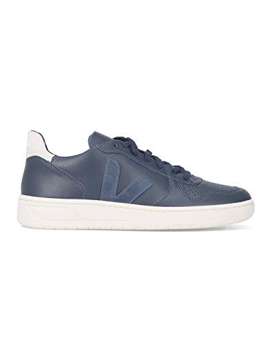 VEJA - - Uomo - Sneakers V10 Cuir Bleu Marine pour homme -