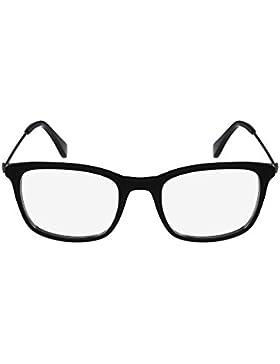 Calvin Klein Platinum - CK5929, Rechteckig, Acetat, Damenbrillen, BLACK(001 A ), 51/19/140