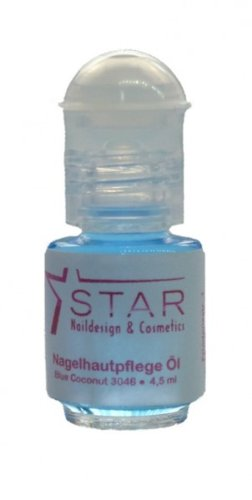 Nagelhautpflege Nagelöl Roller 5 ml - Studioqualität, Farben:Blue Coconut