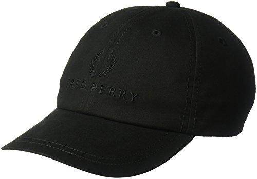 Fred Perry Herren Tonal Tennis Cap Kappe, schwarz, Einheitsgröße -