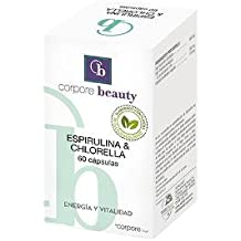 Corpore Beauty Espirulina & Chlorella - 60 Cápsulas