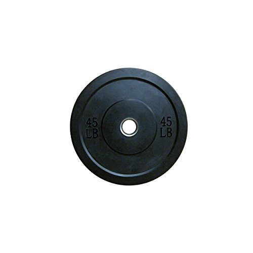 Lifeline-Olympic-Rubber-Bumper-Plate-45-lb
