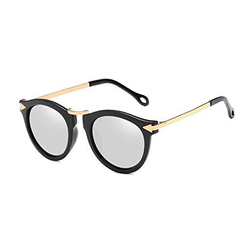 HUOYAN Cat Eye Sonnenbrille Frauen Pfeil Sonnenbrille Vintage Shades for Frau Sonnenbrille Damen Blumen Sunglases (Lenses Color : C10)