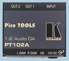 1:2 ST AV DIST AMP PT-102A By KRAMER Av Distribution Amp